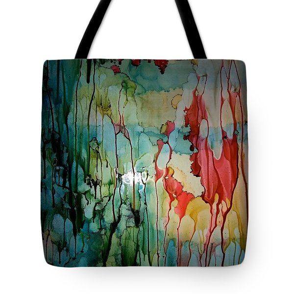 Layers Of Life Tote Bag