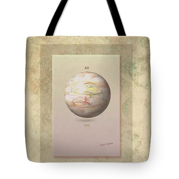 Layers Of Life Tote Bag by Jack Eadon