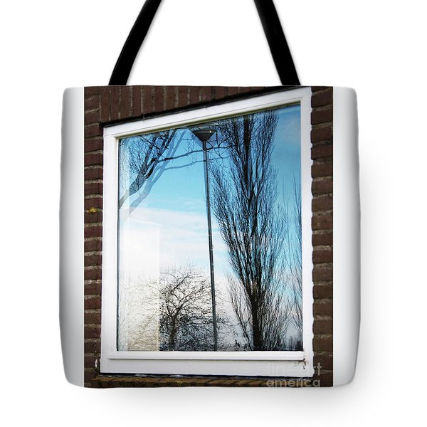 Layers Of Reality Tote Bag by Ana Mireles