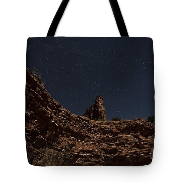 Tote Bag featuring the photograph Layers Of Time by Melany Sarafis