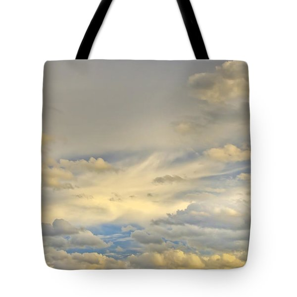 Tote Bag featuring the photograph Layers by Wanda Krack