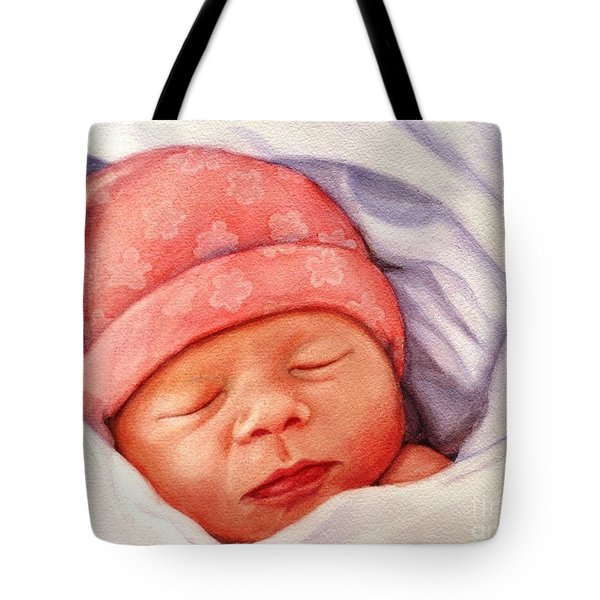 Layla Tote Bag by Marilyn Jacobson