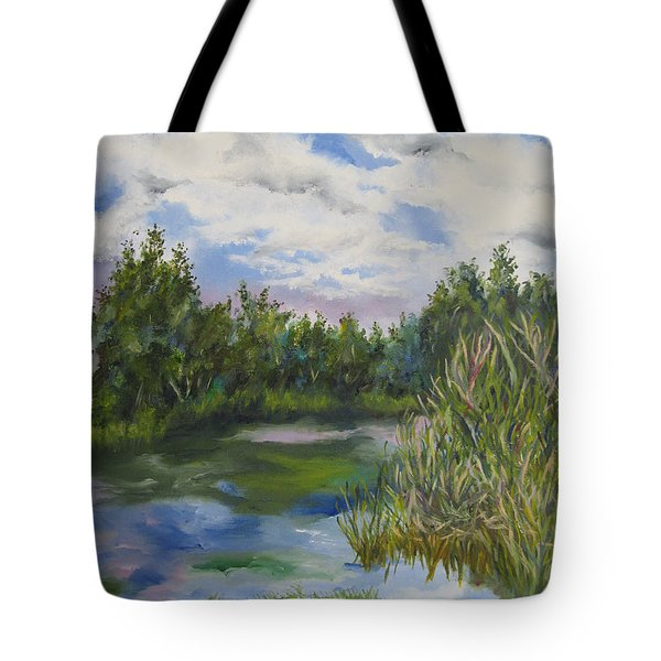 Lazy Afternoon In The Park Tote Bag