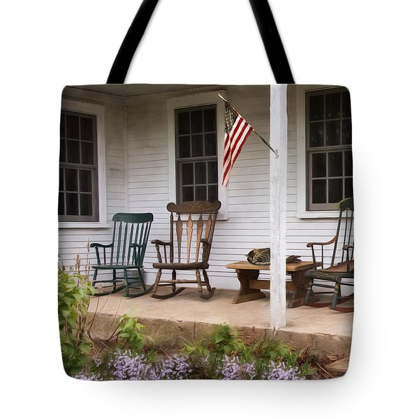Tote Bag featuring the photograph Lazy Afternoon by Robin-Lee Vieira