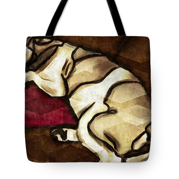 Lazy Hound Tote Bag