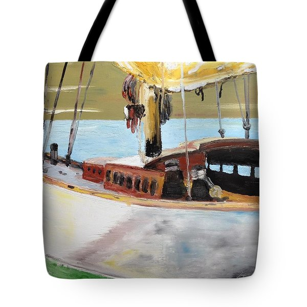 Lazy Sloop Tote Bag