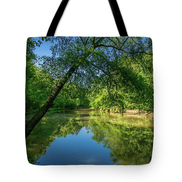 Lazy Summer Day On The River Tote Bag