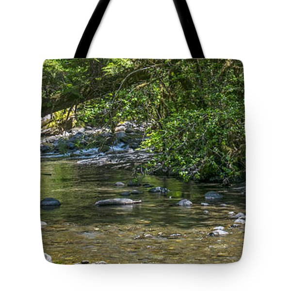 Down By The Lazy River Tote Bag