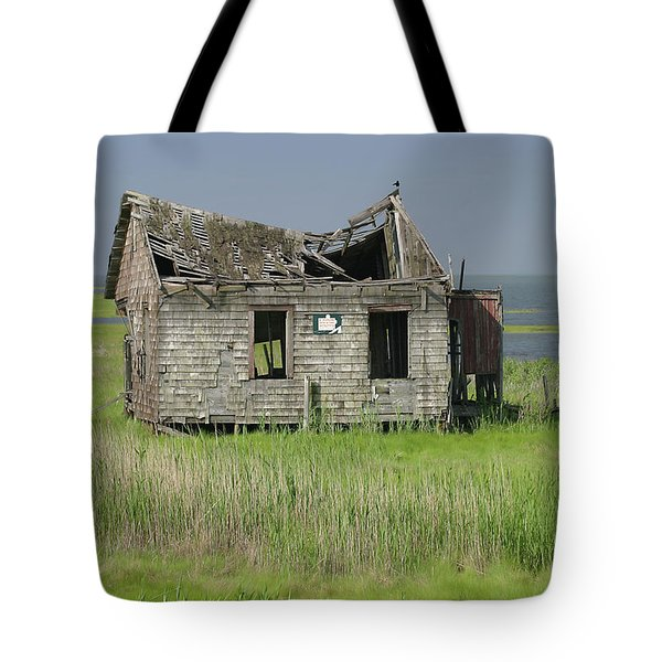 Long Beach Island Crab Shack Tote Bag