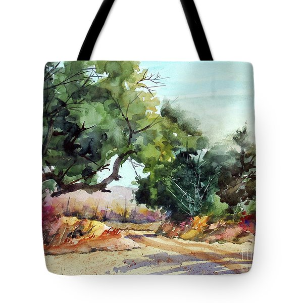 Lbj Grasslands Tx Tote Bag by Ron Stephens