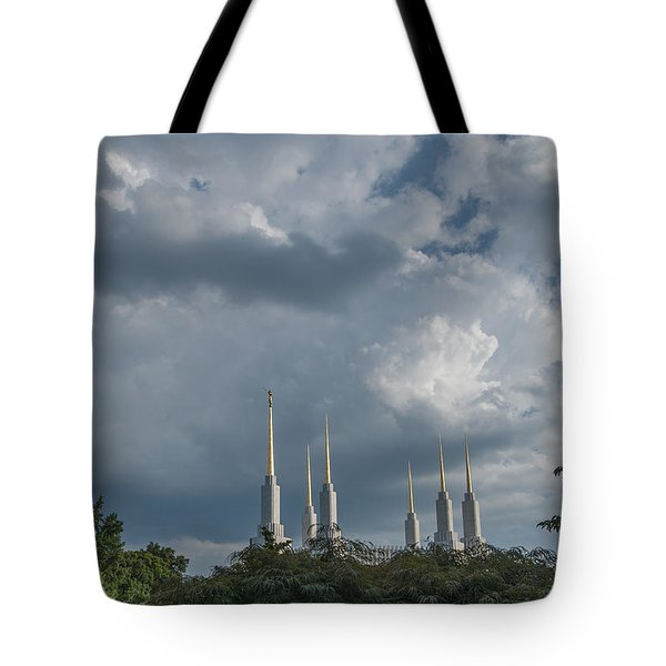 Lds Storm Clouds Tote Bag