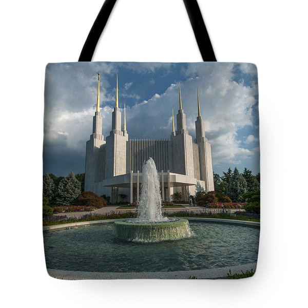 Lds Water Fountain  Tote Bag