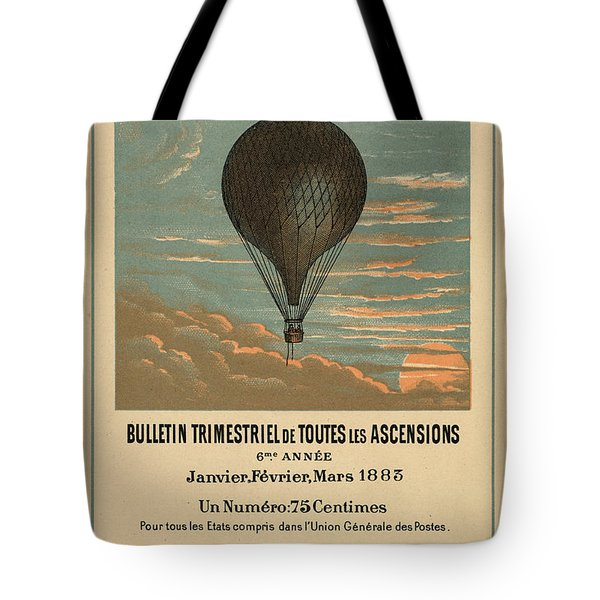 Le Balloon Journal Tote Bag