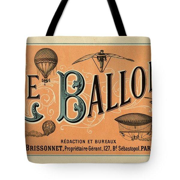 Le Balloon Tote Bag