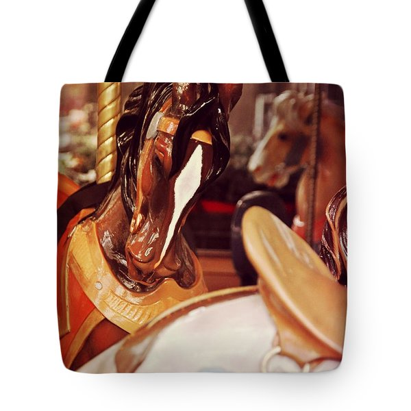 Le Carrousel Tote Bag by JAMART Photography
