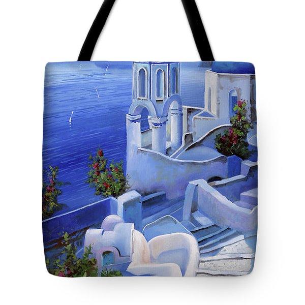 Le Chiese Blu Tote Bag