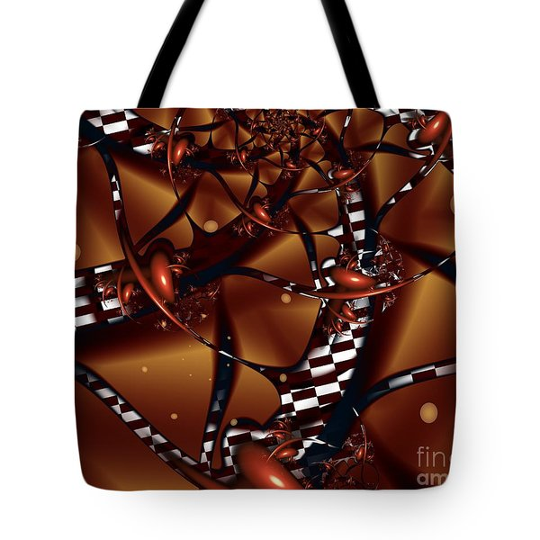 Tote Bag featuring the digital art Le Chocolatier by Michelle H