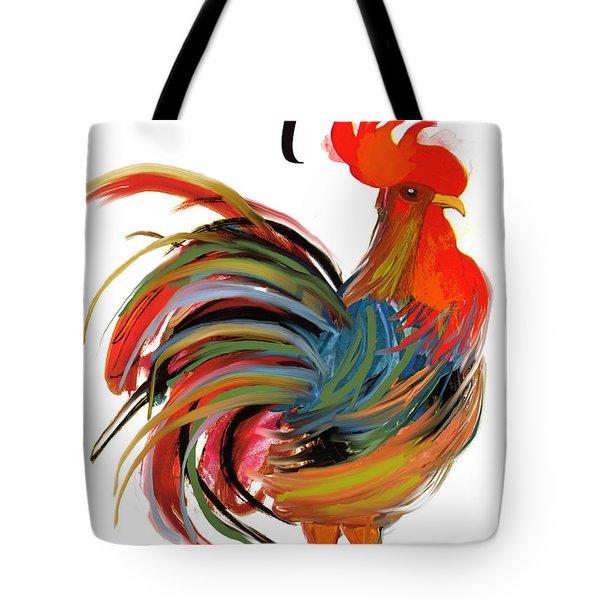 Le Coq Art Nouveau Rooster Tote Bag