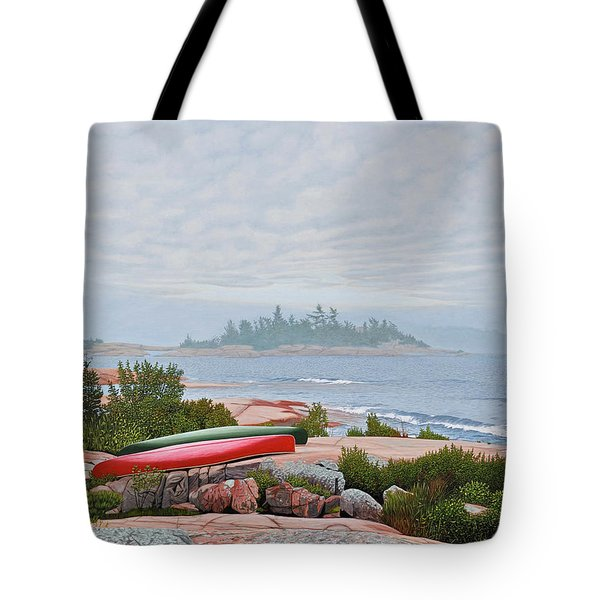 Le Hayes Island Tote Bag by Kenneth M Kirsch