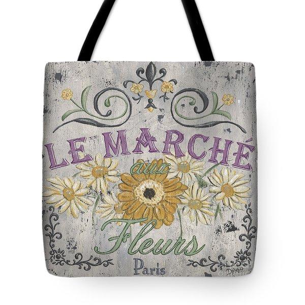 Le Marche Aux Fleurs 1 Tote Bag