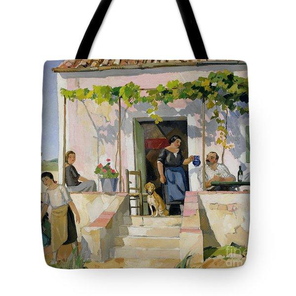 Le Mazet Tote Bag by Armand Coussens