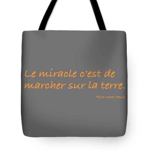 Tote Bag featuring the digital art Le Miracle by Julie Niemela