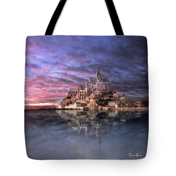 Le Mont Saint Michel At High Tide Tote Bag