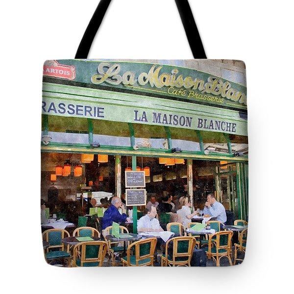 Le Paris Maison Tote Bag