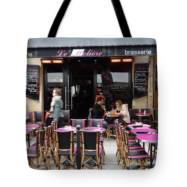 Le Pink Tables Tote Bag