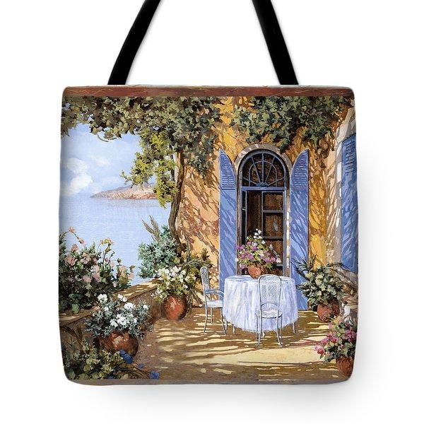 Le Porte Blu Tote Bag by Guido Borelli