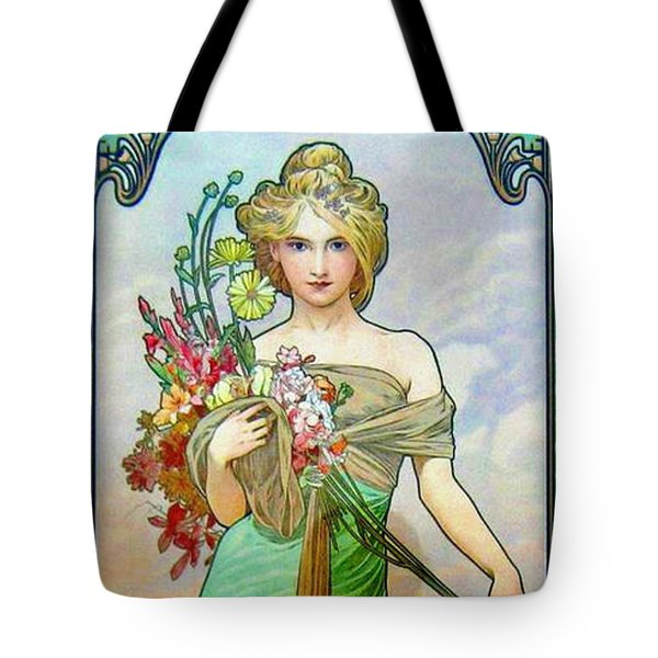 Le Printemps C1895 Tote Bag by Padre Art
