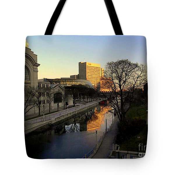 Tote Bag featuring the photograph Le Rideau, by Elfriede Fulda