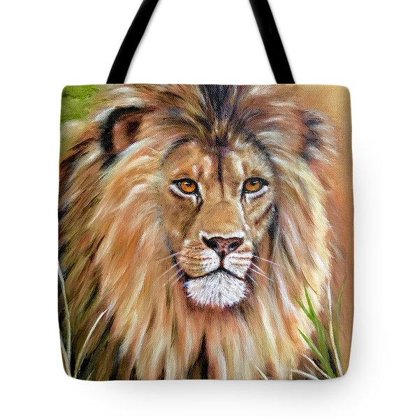 Le Roi-the King, Tribute To Cecil The Lion   Tote Bag