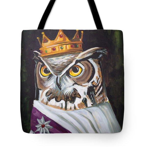 Le Royal Owl Tote Bag by Nathan Rhoads