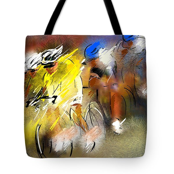 Le Tour De France 05 Tote Bag