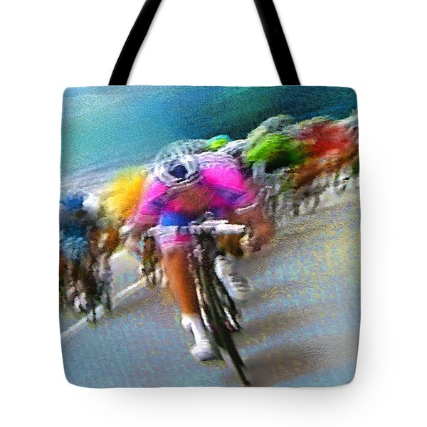 Le Tour De France 09 Tote Bag
