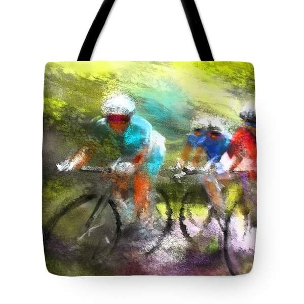 Le Tour De France 11 Tote Bag