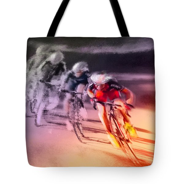 Le Tour De France 13 Tote Bag