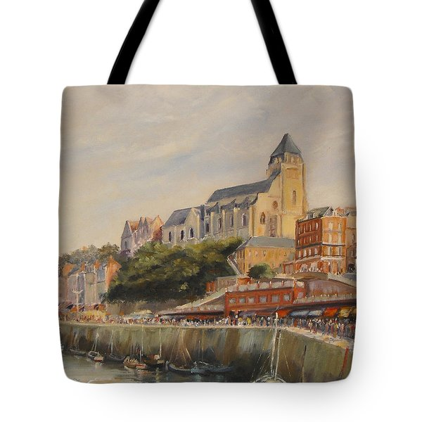 Le Treport France Tote Bag