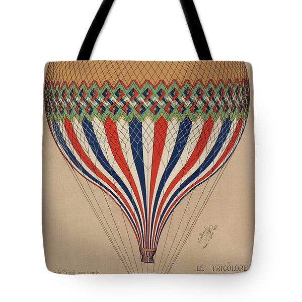 Le Tricolore Tote Bag