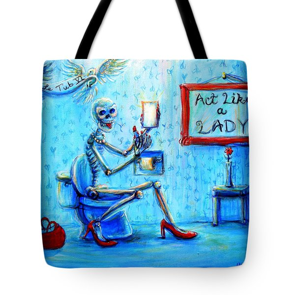 Le Tub Vi Tote Bag
