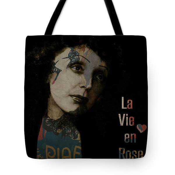 Le Vie En Rose  Tote Bag