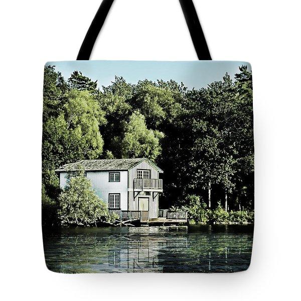 Leacock Boathouse Tote Bag