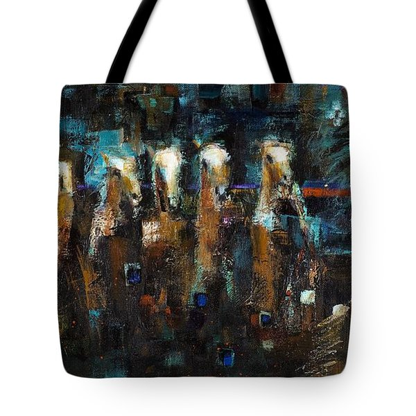 Lead Mares Tote Bag by Frances Marino