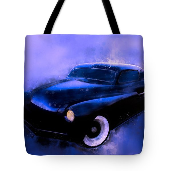 Lead Sled 51 Mercury Watercolour Illustration Tote Bag