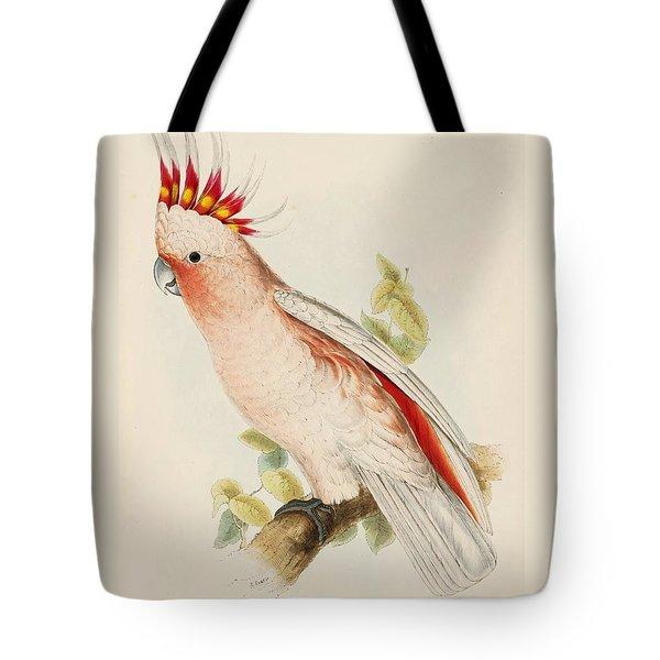 Leadbeaters Cockatoo Tote Bag