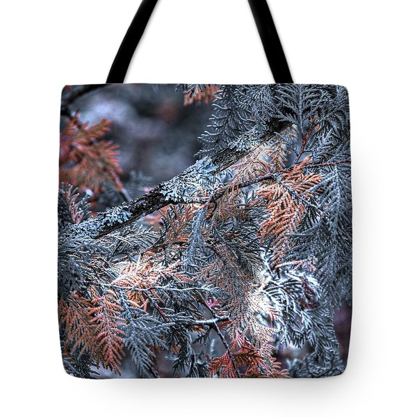 Tote Bag featuring the photograph Ceader by Michaela Preston