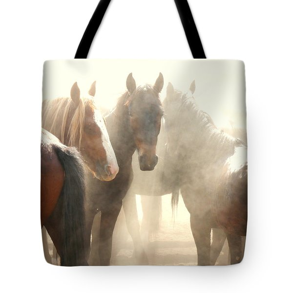 Leader Of The Mob Tote Bag