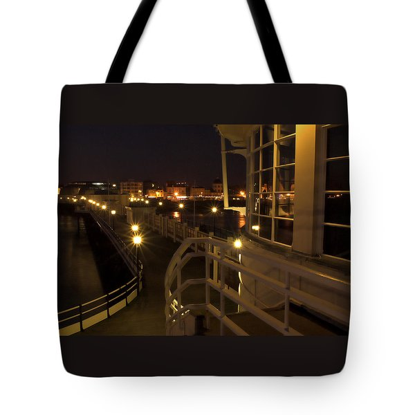 Leading Lights Tote Bag by Hazy Apple