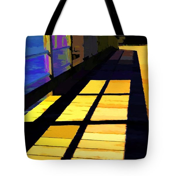 Tote Bag featuring the photograph Leading Lines # 1 by Mel Steinhauer